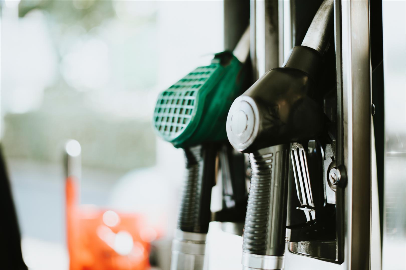 detalle manguera gasolinera