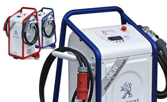 Cargador portatil de gasolina