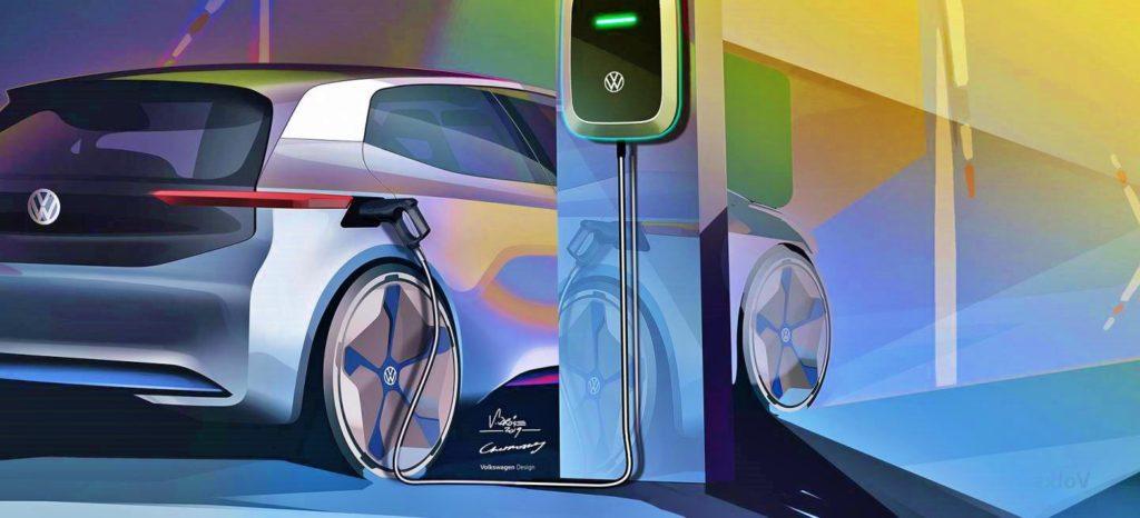 coche Electrico volkswagen ID