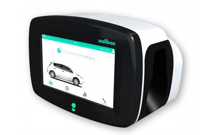 Cargador wallbox con WIFI