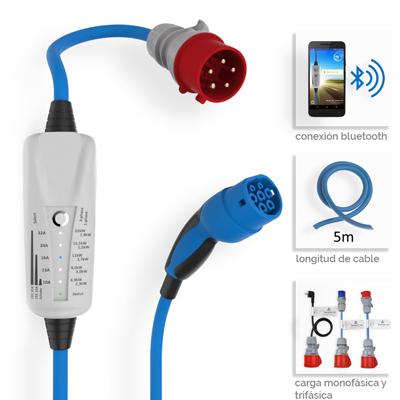 Cargador portatil con control por Bluetooth