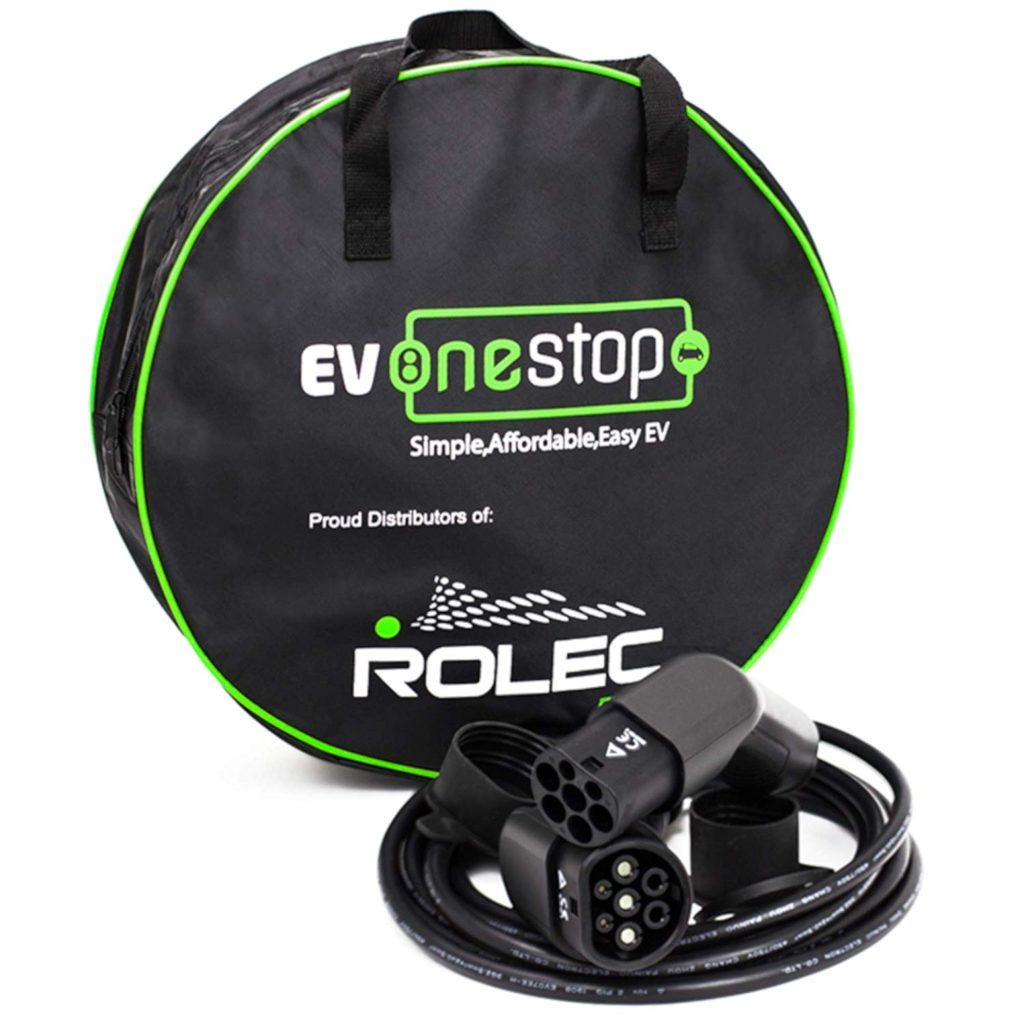 Cable ev OneStop con funda