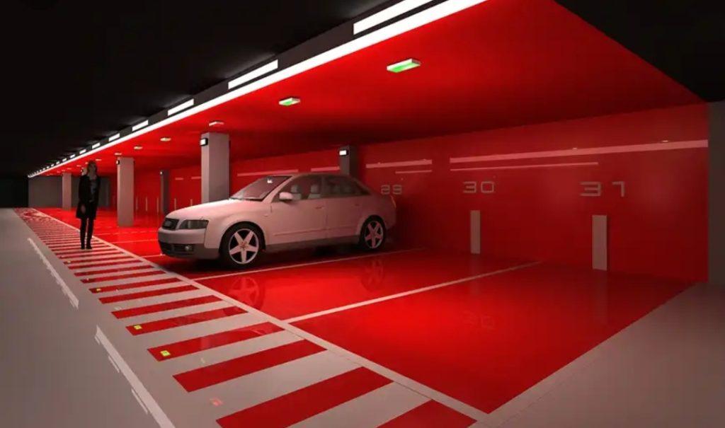 Garaje privado, de uso particular