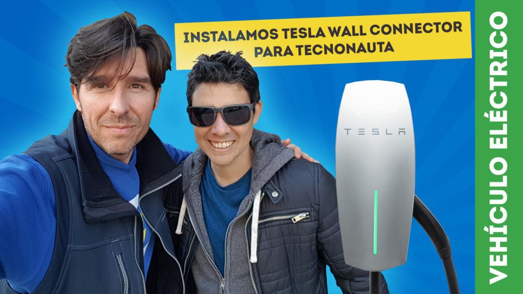 Wall Connector de TESLA DOMOELECTRA y TECNONAUTA
