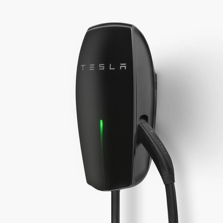 Wall Connector de TESLA negro