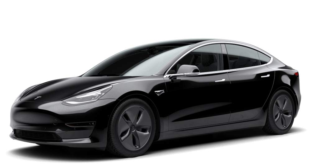 Tesla Model 3 Amazon renting exterior
