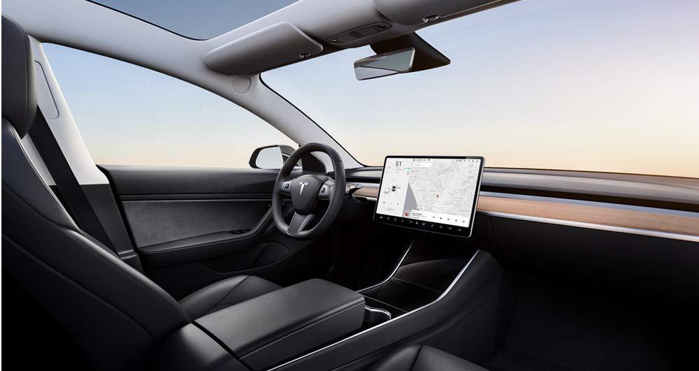 Renting de EV Testla model 3