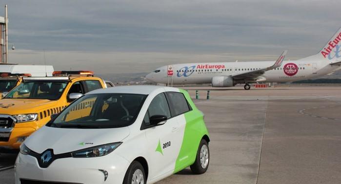 Vehiculo Electrico Renault Zoe, AENA