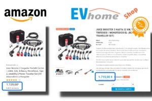 Comprar cargador para coche eléctrico
