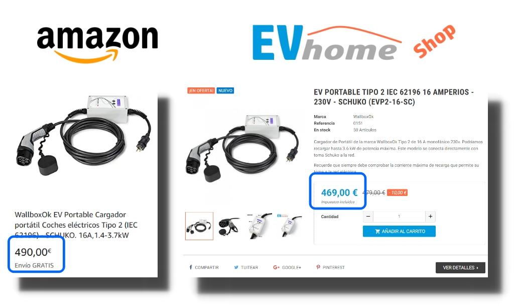 Longitud 5/m Mennekes Phoenix Contact Super Alem/án EV Cable de Carga Tipo 2/ kostenfrei Compacto Funda | 16/A 1/de Fases /Tipo 2/ 3,6/kW
